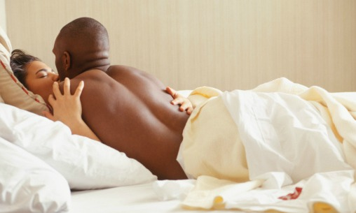 Image result for black couple in bed
