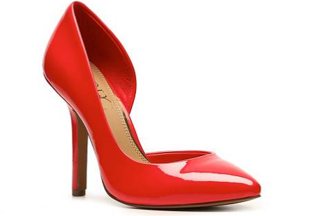 Red BCBG shoes