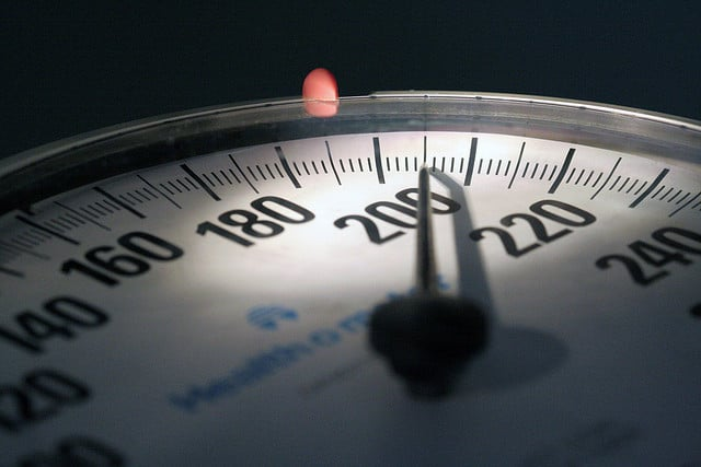A scale to measure weight