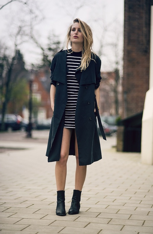 Le-Fashion-Blog-Rainy-Day-Style-Inspiration-Trench-Coat-Striped-Dress-Boots-Via-Raspberry-Rouge-Blogger
