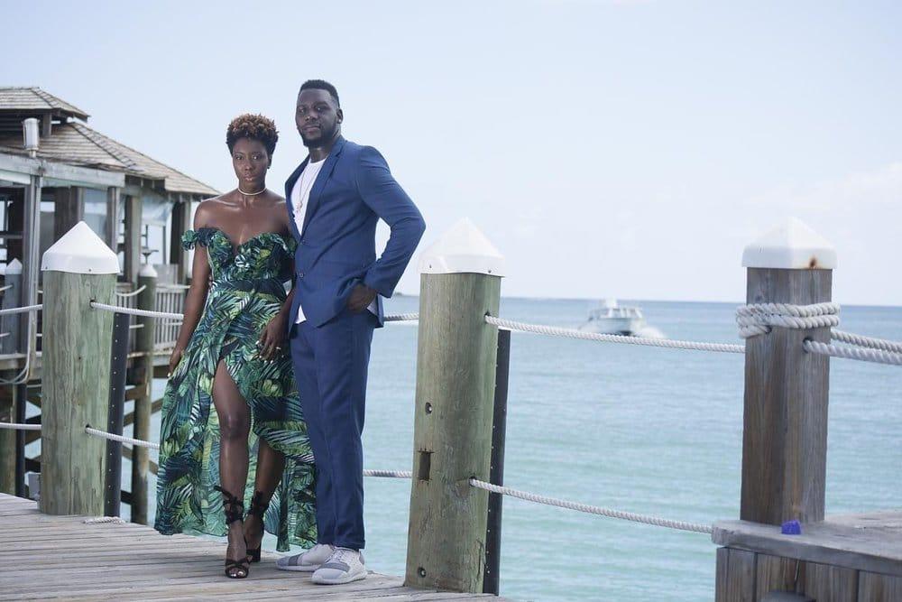 Dayna Bolden with husband
