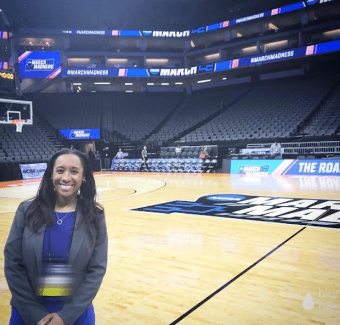 Gianina Thompson 2, NCAA March Madness 2017-42352