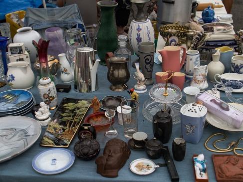 gems from finding flea market